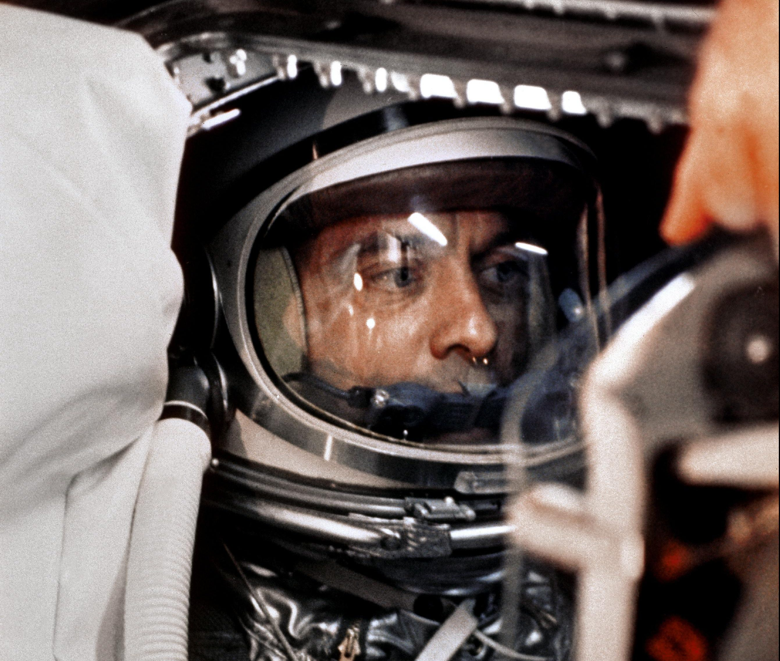 """Don Draper in a Spacesuit"" - The Life of Alan Shepard
